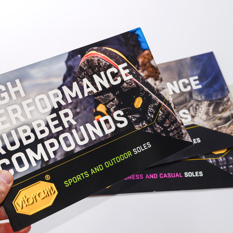 Vibram rubber compound catalogues