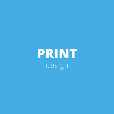 Print is my specialty, no matter what. Business cards, flyer, poster, books, folder, roll ups,