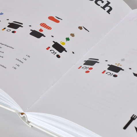 Icon Cookbook Design