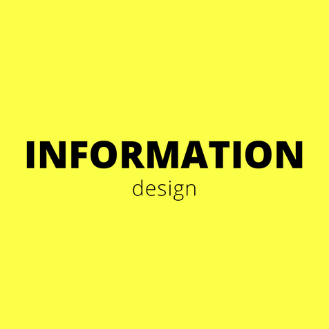 In information design it is all about simplifying complicated topics or structuring a big amount of data to improve the comprehensibility.
