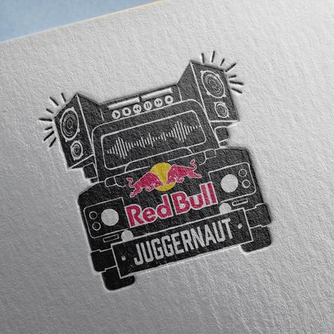 Logodesign Red Bull Event Car