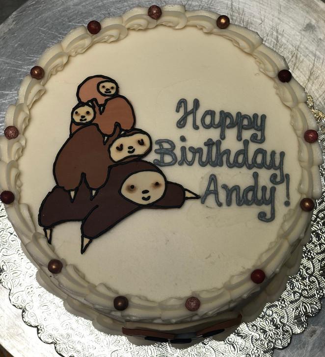 sloth family cake.jpeg