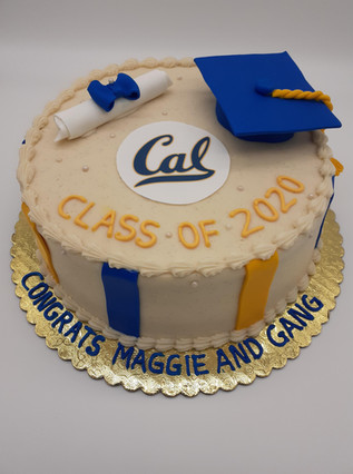 UC Berkeley Graduation Cake