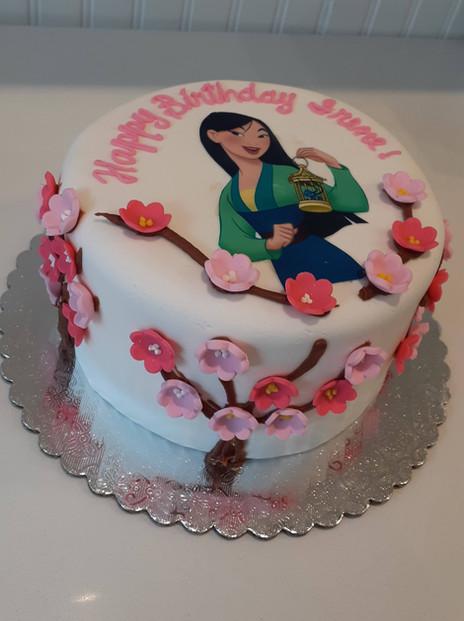 Mulan Flower Birthday Cake.jpg