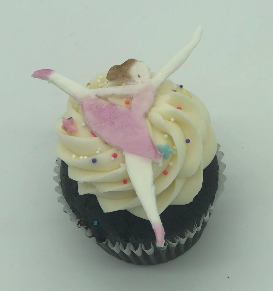 Dancer Cupcake