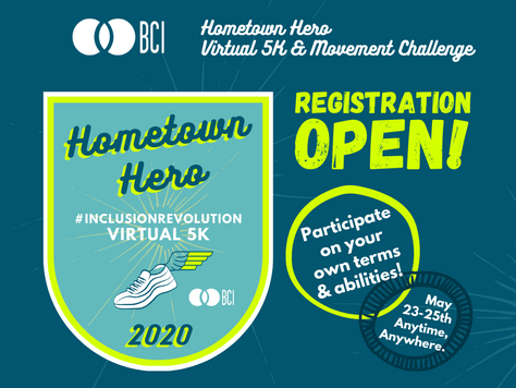 BCI to Hold Virtual 5K and Movement Challenge May 23-25