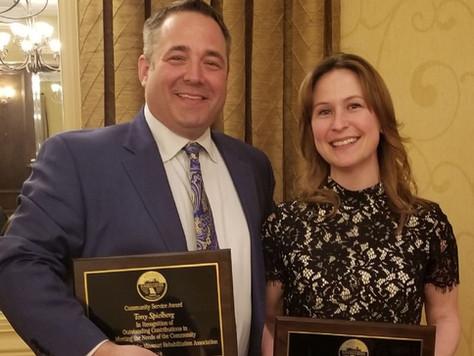 Jones, Spielberg Honored by Missouri Rehabilitation Association