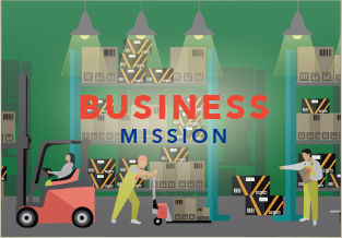 Business Mission box
