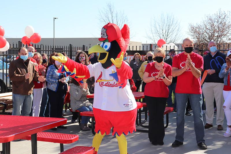 FREDBIRD works the crowd