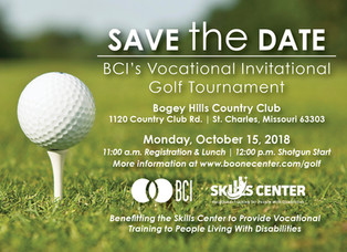 Golf to Support Vocational Training for People with Disabilities on October 15