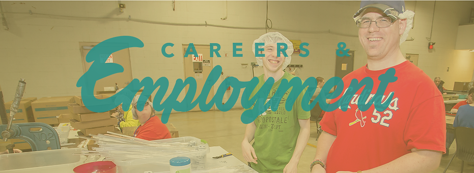 careers and employment banner