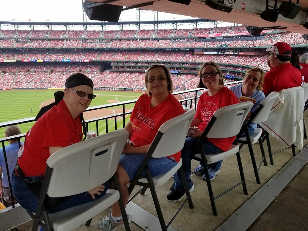 BCI team members love their St. Louis Cardinals