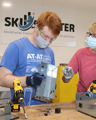 Students learn at the BCI Skills Center