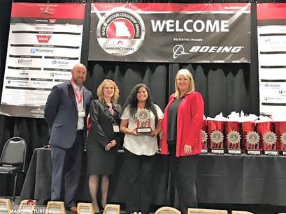 BCI Honored by Missouri Association of Manufacturers