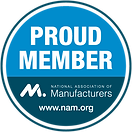 National Association of Manufacturers badge