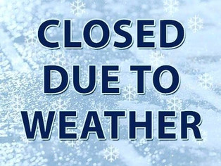 BCI Closed Due to Weather on Tuesday, November 12th