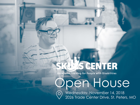 Disability Community Invited to Attend Skills Center Open House