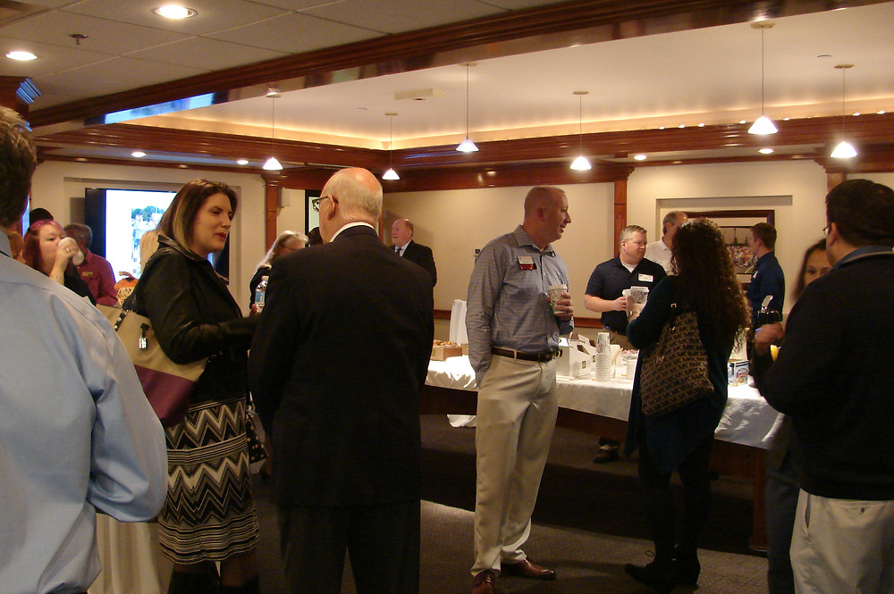 Members of the Greater St. Charles County Chamber of Commerce visited BCI in November 2016 for a Networking Coffee.
