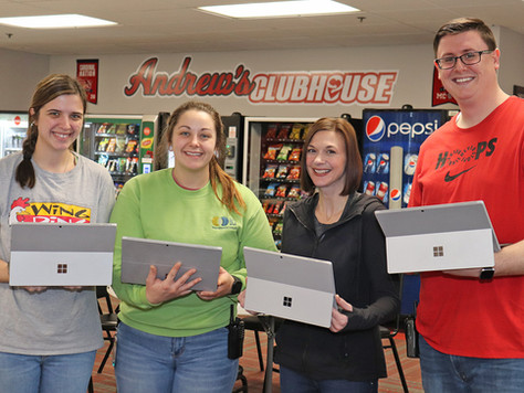 EFC International Donates Nearly $16,000 Worth of Technology
