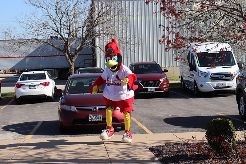 FREDBIRD arrives
