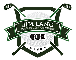 BCI Jim Lang Memorial golf tournament logo