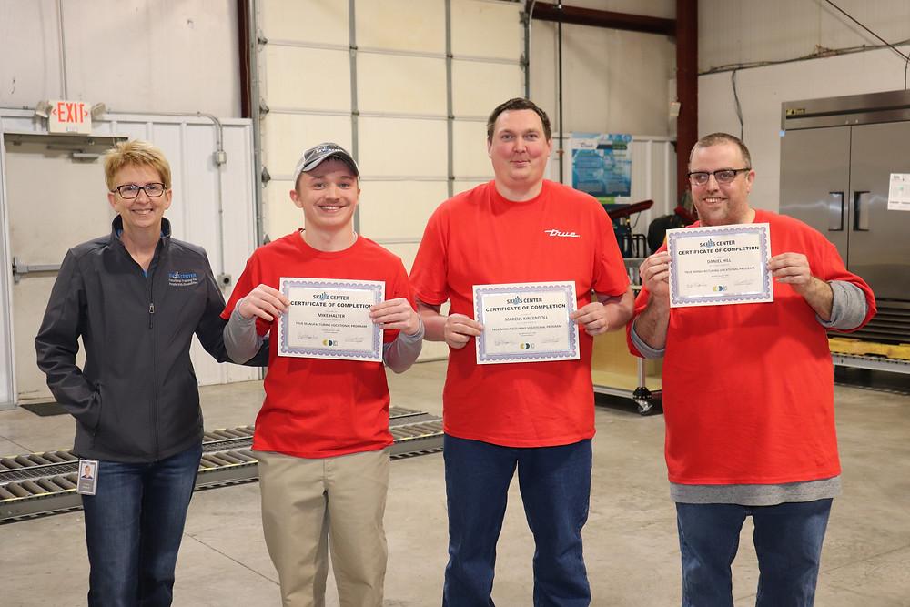 BCI Skills Center Manufacturing Graduates