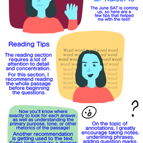 Quick Tips for the June SAT!