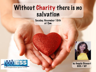 """Without Charity there is no salvation"""