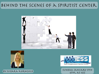Behind the Scenes of a Spiritist Center