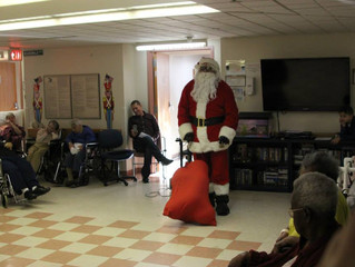Nursing Home Christmas Performance