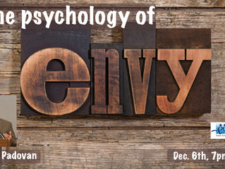 The psychology of envy, by Júlio Padovan