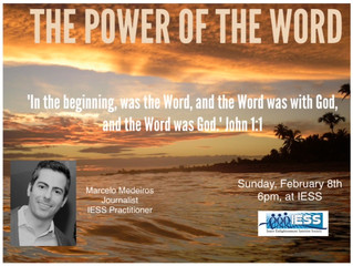 "Marcelo Medeiros - ""The Power of the Word!"""