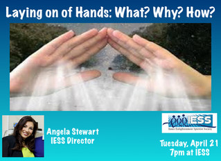 Angela Stewart - Laying of Hands: What? Why? How?