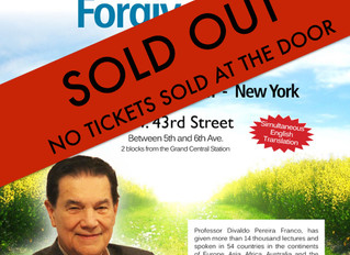 Divaldo Franco - The Psychology of Forgiveness - ****SOLD OUT****