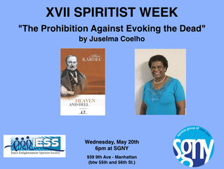 Juselma Coelho - The Prohibition Against Evoking the Dead