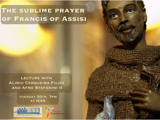 """The Sublime Prayer of Francis of Assisi"", by Alirio Cerqueira Filho and Afro Stefanini II"