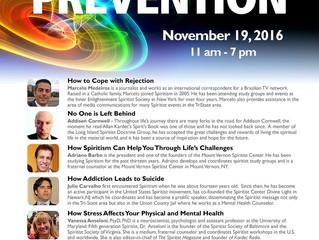 IV Annual Workshop Suicide Prevention