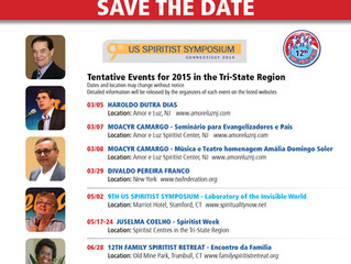 Tri-State Spiritist Federation Events 2015