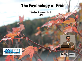 The Psychology of Pride - Julio Padovan