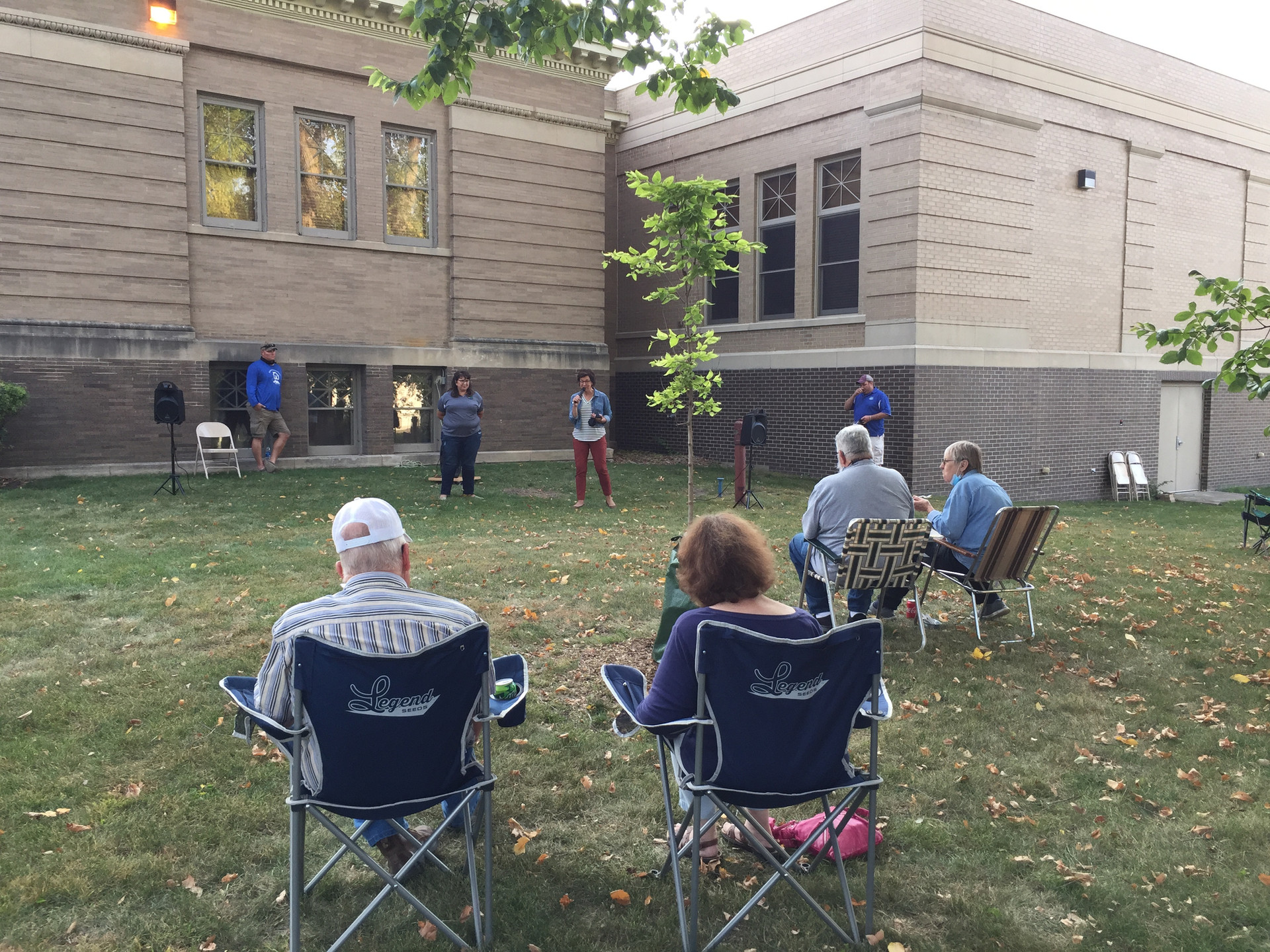 Speaker event at Stevens Co Historical Society and Museum