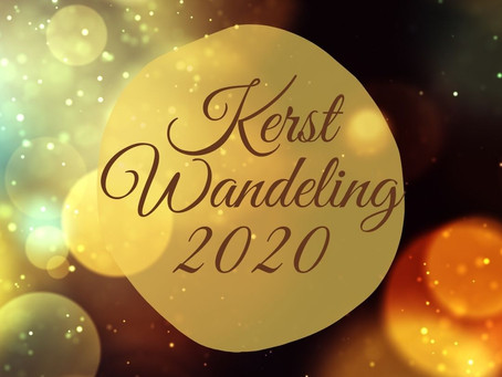 Kerst wandeling 2020