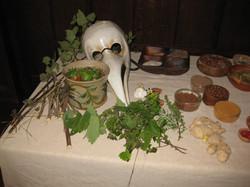 Medicine and plague