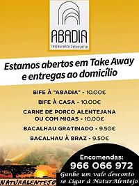 Restaurante Abadia em Évora