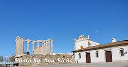 largo templo diana em Évora