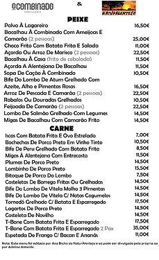 Restaurante o Combinado em Évora