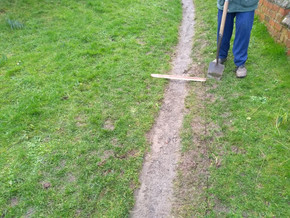 Path widened by this much