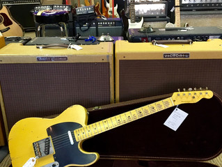 Nash T-52 Telecaster 2017 Butterscotch Relic $1850