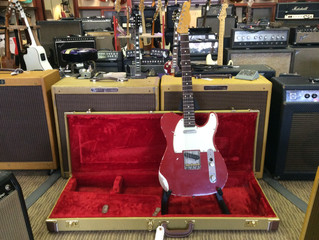K-Line Truxton, Telecaster 2010 Distressed Dakota Red-Used; Was $1850, Now Only $1450!