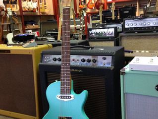 SOLD-St. Blues Bluesmaster 2016 Seafoam Green-NEW; $1399-SOLD