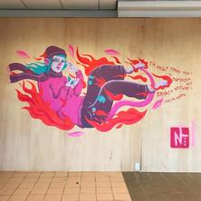 Burns Mural